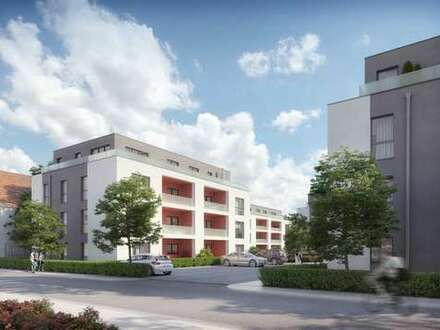 3 Zimmer-Penthousewohnung mit Einbauküche über den Dächern der Stadt