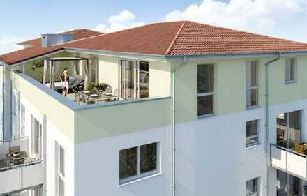 Penthouse Wohnung für den gehobenen Anspruch mit fantastischer Dachterrasse