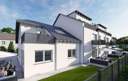 CasaVita NEUBAU: Exklusive 2-Zimmer-DG-Wohnung, Balkon, 2. OG, Design-Bad, Baubeginn 07/2019
