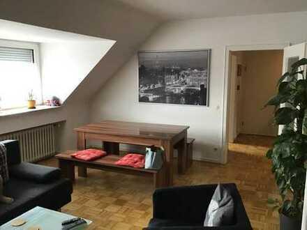 Preiswerte, gepflegte 3-Zimmer-Dachgeschosswohnung in Mönchengladbach