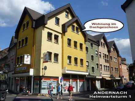 Grosszügige, geräumige, preiswerte 2-Zimmer-DG-Wohnung in Andernach
