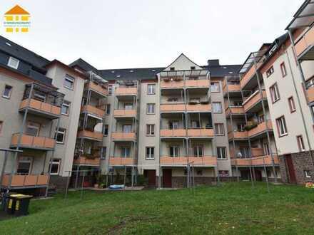 Zuverlässig vermietete Kapitalanlage - 2-Raum-Wohnung mit Balkon in Gablenz!