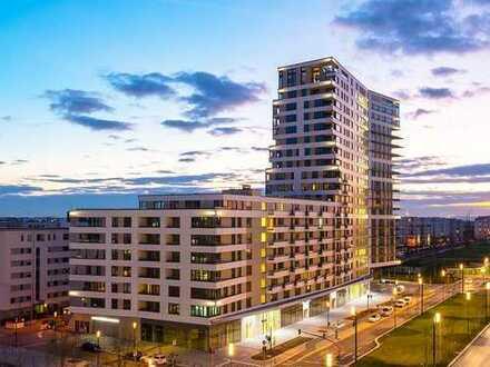 WOHNEN AM PARK - Höchster Wohngenuss in Top-Lage! 141 m² Wohnbereich - 95 m² Süd-Loggia - 3 Bäder