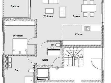 Erdgeschoss-Wohnung in gehobener Neubau-Qualität