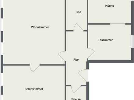 Sanierte 3-Raum-Wohnung mit Einbauküche in der Altstadt von Neuburg an der Donau
