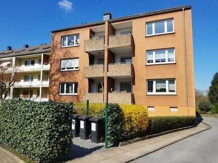 Günstige, gepflegte 3-Zimmer-Wohnung mit Balkon und Einbauküche in Dortmund Lütgendortmund