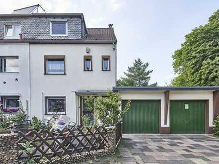 Familienidylle pur! Reiheneckhaus mit 2 Garagen in Mauenheim!