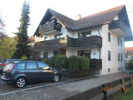 2-Zimmer-Erdgeschosswohnung mit Balkon in Bad Wörishofen zu vermieten