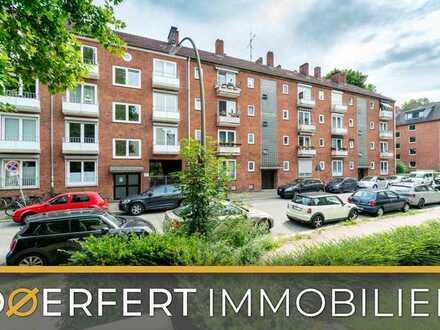 Hamburg- Sternschanze   Zentral gelegene 2,5 Zimmer Wohnung in Verkehrsberuhigter Anliegerstraße