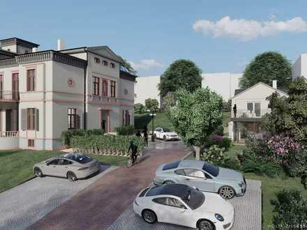 Denkmalgeschütztes Einfamilienhaus auf herrschaftlichem Anwesen in zentraler Lage