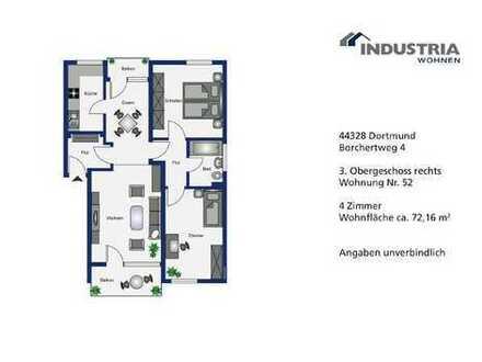 Renovierte Wohnung mit offenem Esszimmer zur Eigennutzung!