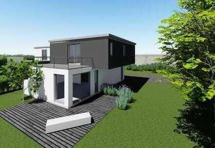 Neubau Cubus-Einfamilienhaus in Zentrumslage von Coburg