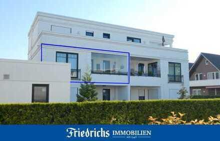 """Sonnige, sehr gepflegte Obergeschosswohnung im """"AURUM"""" mit Südloggia in Bad Zwischenahn / Ortskern"""