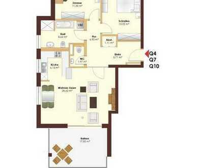 Neuwertige 3,5-Zimmer-Wohnung mit Balkon und EBK in Schopfheim