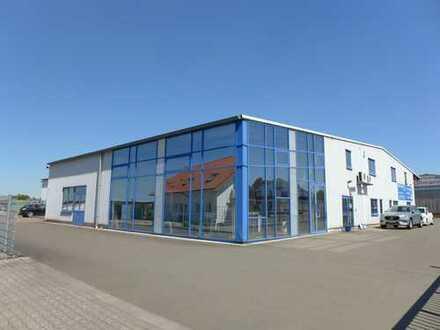Nähe Kaiserslautern + A6! Moderne Werkstatt-/Montagehalle mit großzügigem Wohnhaus