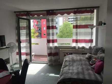 Schönes 1-Zimmer-Appartment mit Loggia nur 6min. bis Südbahnhof
