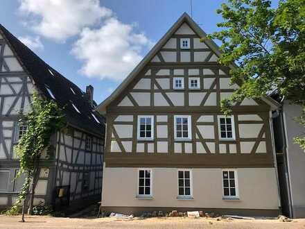 Schönes Fachwerkhaus, komplett energetisch saniert, wie Neubau