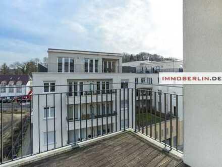 IMMOBERLIN: Hell & sehr gepflegt: Wohnung mit Loggia in vitaler Lage