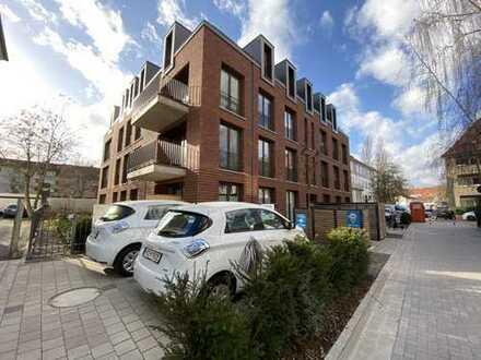 Südstadt Neubauwohnung mit großem Balkon - ruhig, sonnig und energieeffizient