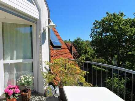 Schöne 2,5 Zimmerwohnung mit Balkon inkl. Tiefgarage in toller Lage von Bessungen für 6 Monate!
