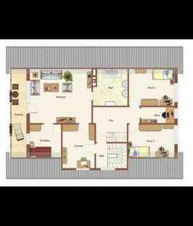 Gepflegte 5-Zimmer-Wohnung mit Balkon und EBK in Ahmsen
