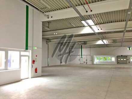 KEINE PROVISION ✓ NÄHE BAB ✓ RAMPE + EBEN ✓ Lager (1.000 m²) & kl. Lagerbüro zu vermieten