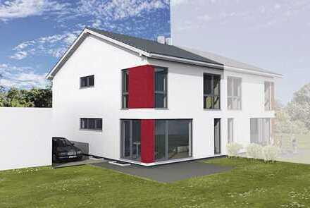 Moderne Doppelhaushälfte mit gehobener Ausstattung - Schmidgaden Baugebiet West III