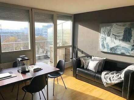 ***MODERN & BERGBLICK*** Erhabene & ruhig gelegene 2-Zimmer + Dachterrasse - HERZEN von München