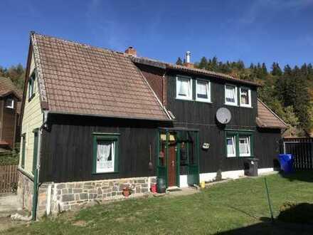 Typisches Oberharzer Steinfachwerkhaus