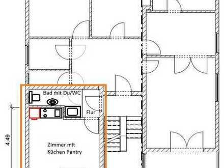 400 €, 21 m², 1 Zimmer