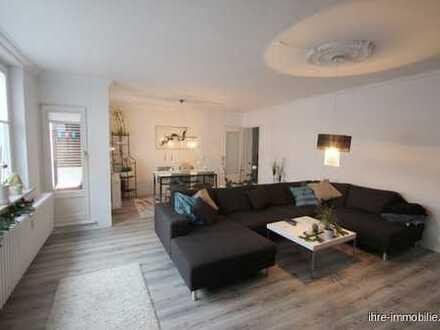 FINDORFF: HELL+MODERN, 3 ZIMMER ETW, großer Wohn/Eßbereich, überdachter Sonnenbalkon, helle Küche