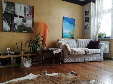 Geräumige 1-Zimmer-Wohnung mit Balkon in Prenzlauer Berg, unmöbliert zur Untermiete
