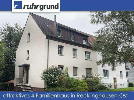 gepflegtes 4-Familienhaus mit 3 Garagen in Recklinghausen-Ost!