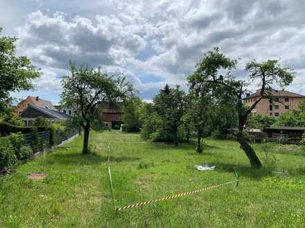 G4) gut geschnittenes Grundstück im Herzen von Rückersdorf - unerschlossen