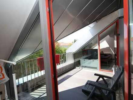 helle LUXUS Penthouse-Wohnung mit moderner Küche