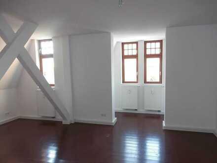 1-Raum Altbauwohnung mit einmaliger Raumgestaltung