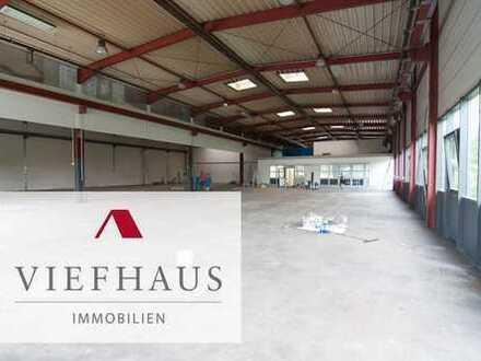 Produktions- und Lagerhalle (1160 m²) im Gewerbegebiet Heuchelhof (2X 5to Kranbahn)
