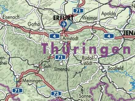 betreiberfreie Frühstückspension / 9 Doppelzimmer bzw. Ferienwohnungen / Thüringer Urlaubsregion