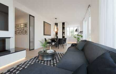Licht & Luxus: Lifestyle im Penthouse! 3-Zi-DG-Whg mit umlaufender Dachterrasse