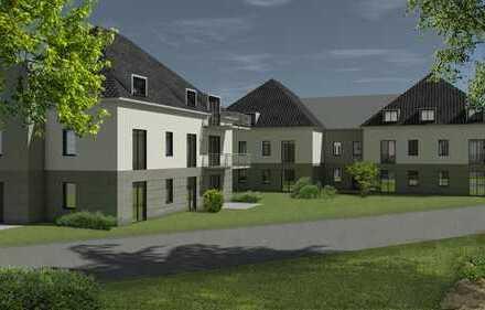 Erstbezug: ansprechende 3-Zimmer-Hochparterre-Wohnung mit Balkon in Neuötting
