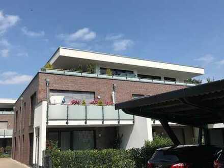 Große, hochwertige Penthouse-Wohnung mit 110qm großen Dachterrasse in Oyten