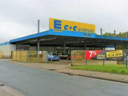 Großhandel Fläche in Toplage (ehemaliger Edeka C&C Markt)