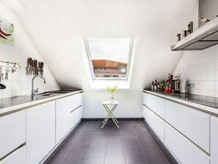Zentral gelegene 3-Zimmer Maisonette Wohnung in Seckenheim