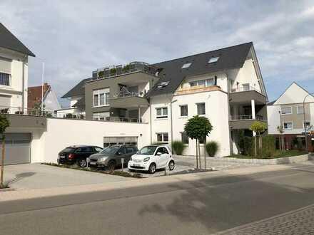 Neuwertige 4-Zimmer-Erdgeschosswohnung mit Balkon in Jettingen