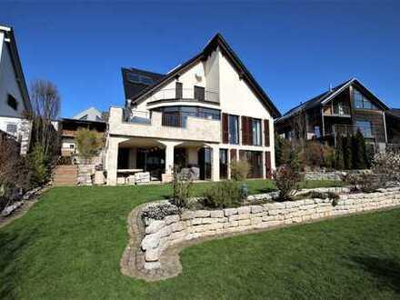 Mediterranes Architektenhaus in bester Lage mit unverbautem Blick in Itzum-Hohe Rode!