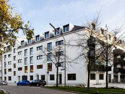 2 Zi Wohnung mit hohen Loftdecken & EBK in München - provisionsfrei & modernisiert