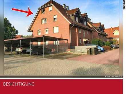 Individuelle Dachgeschosswohnung über 2 Ebenen mit Loggia in Borken-Gemen