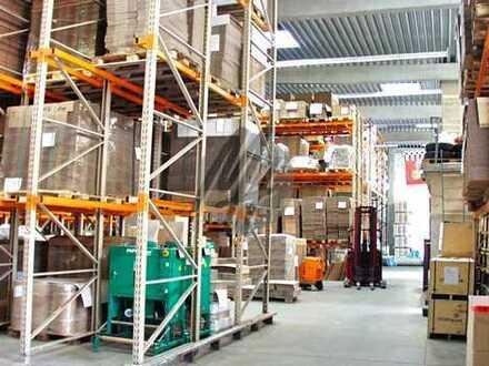 NÄHE MESSE! Lager-/Logistik (2.000 qm) & Büro-/Sozial (50 qm) & Freilager (1.500 qm) zu vermieten