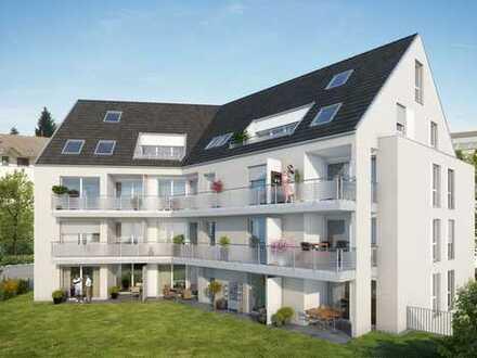 Schicke 4,5-Zimmer-Maisonette-Wohnung mit Galerie und sonniger Dachloggia in Zentrumsnähe