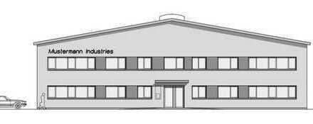 Neubau-Gewerbehalle mit Bürotrakt in Papenburg, www.deWeerdt.de